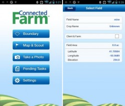 Trimble App for Connected Farm