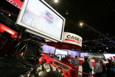Case IH exhibit at Ag Connect Expo 2011.