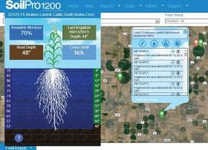 Valley irrigation SoilPro1200 DataReport