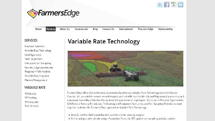 Farmers Edge screenshot