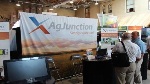 AgJunction, InfoAg 2014, Autosteer, GPS