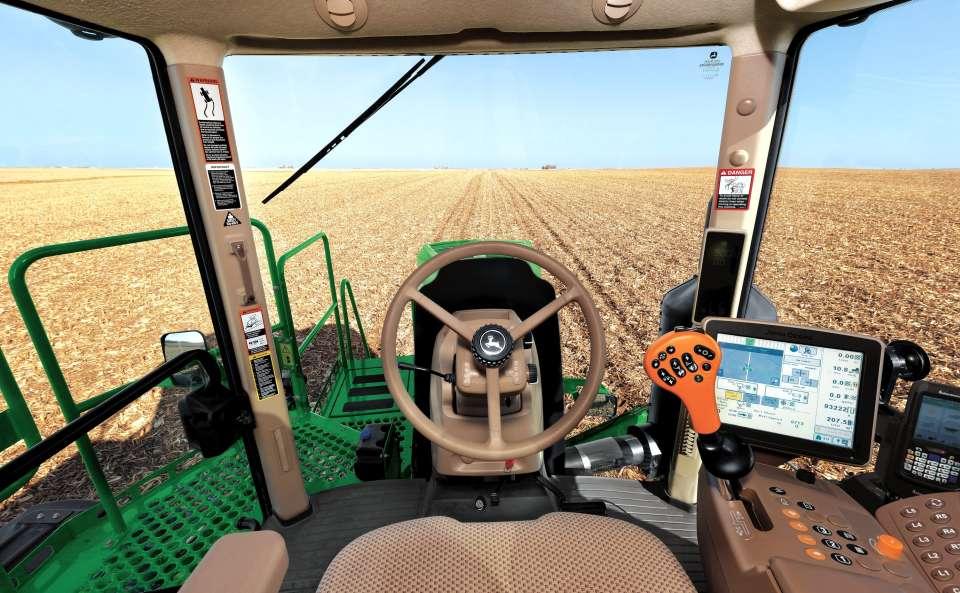 Deere R4023 cab