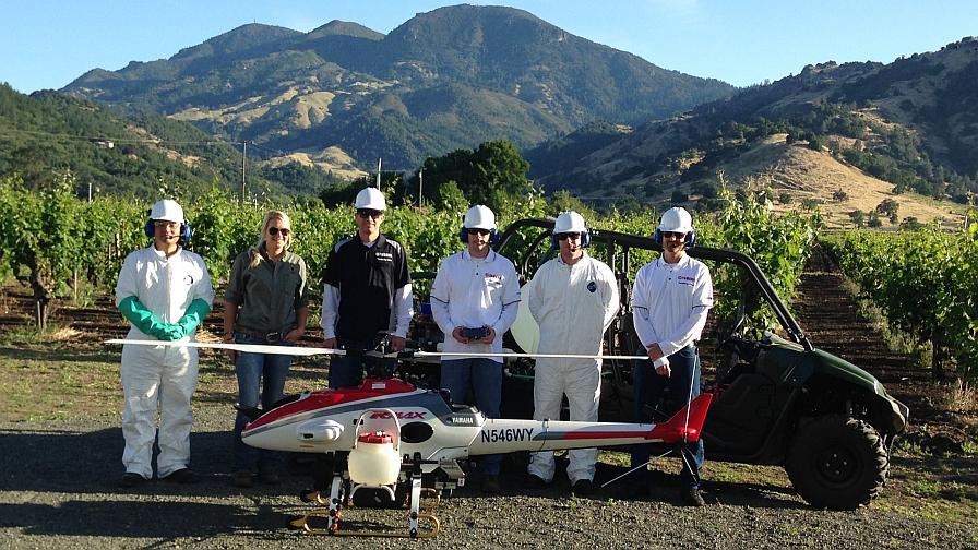 Yamaha RMAX Drone