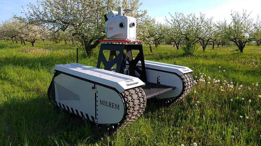 Leica Geosystems Pegasus Multiscope 2 Unmanned Ground Vehicle