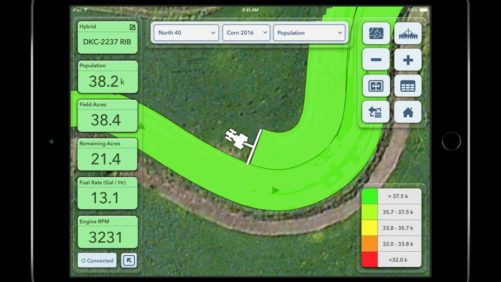 Climate FieldView Plus (Planting) iPad
