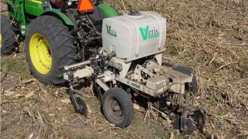 Veris soil sampling