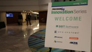 Precision Ag Innovations Series 2016 Sponsor Welcome Sign Hotel Lobby