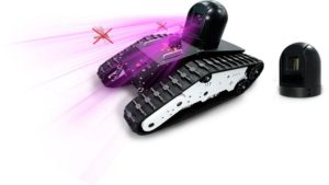 LeiShen Intelligent's Laser Movable Mosquito Killer Robot.