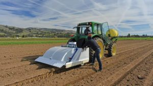 Blue River Tech See and Spray prototype in CA
