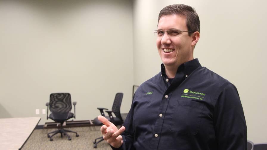 Randy Bartholomew of GreenMark Equipment