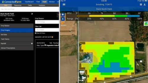 Connected Farm Scout Trimble Agriculture - featured image