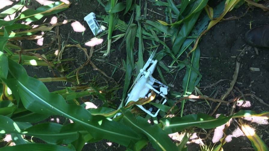 Downed Drone