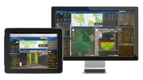 Trimble Connected Farm Dashboard ipad and desktop