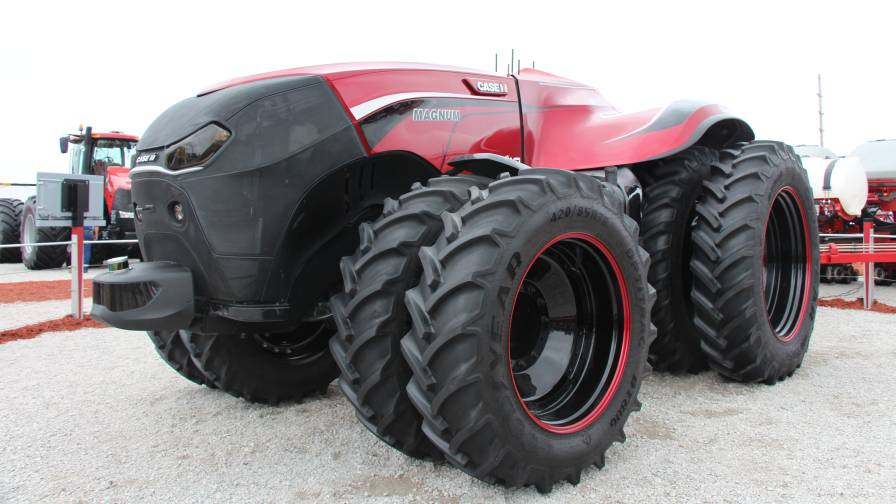 Autonomous Tractor Case Unmanned
