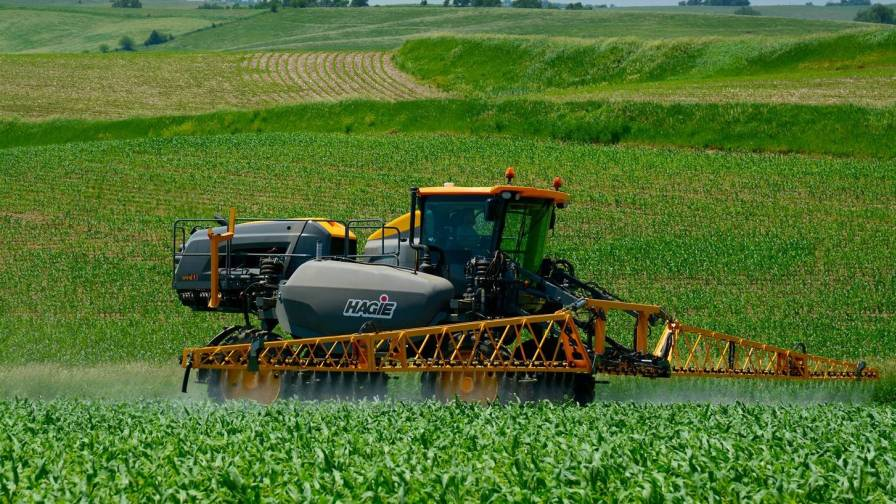 Hagie sprayer