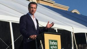 Gavin Newsom Forbes AgTech-Summit